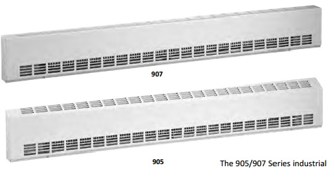 905/907 Series industrial sill-height convector